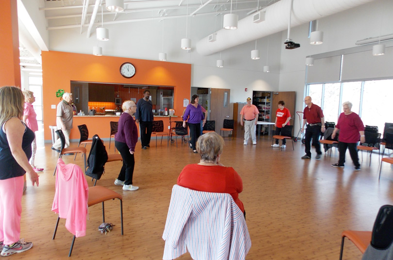 light exercise classes for seniors ottawa west
