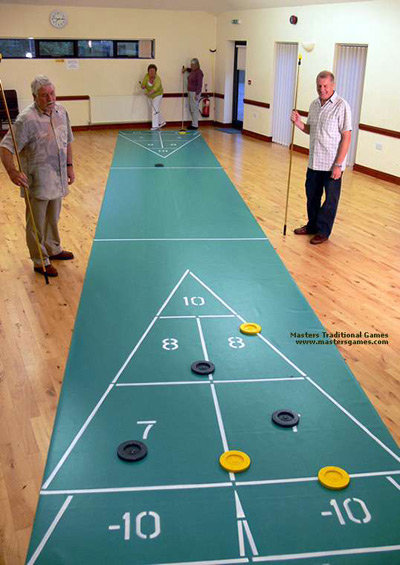floor shuffleboard for seniors nepean