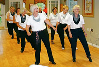 line dancing classes for seniors