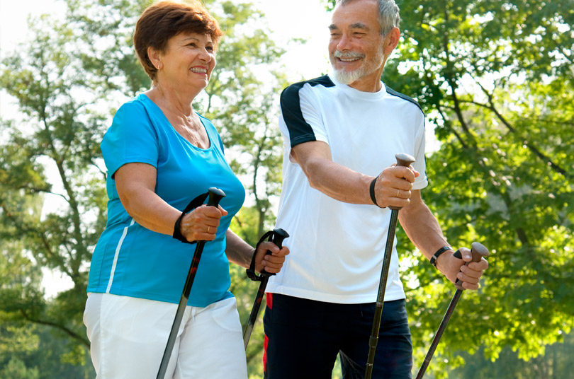 nordic outdoor walking club for seniors